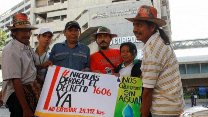 Las comunidades indígenas del Zulia no fueron consultadas sobre el decreto