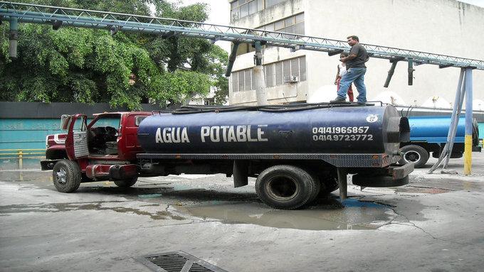 M s de 25 del agua potable que llega a caracas se desperdicia for Lo espejo 0847 la cisterna
