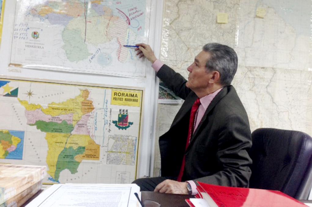 Coronel Pompeyo Torrealba, experto en el Esequibo, explica la disputa con Guyana