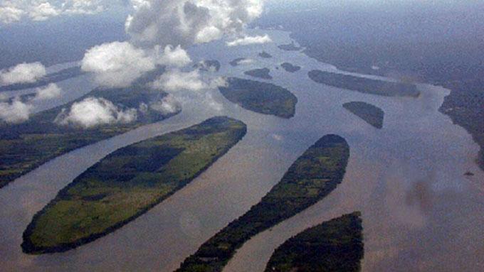 Desembocadura Río Esequibo