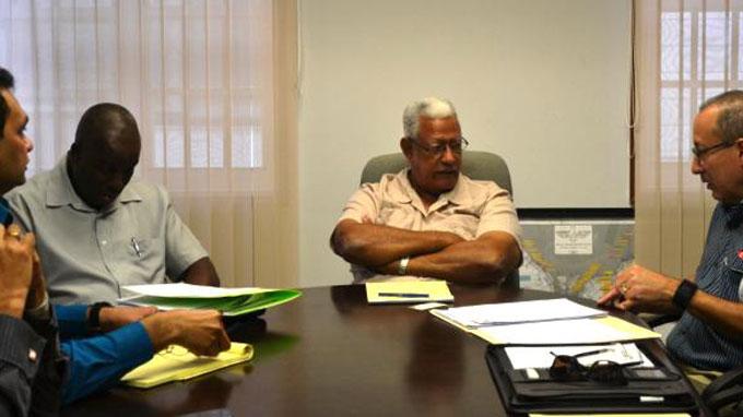 Ministro de Agricultura de Guyana, Noel Leroy Holder