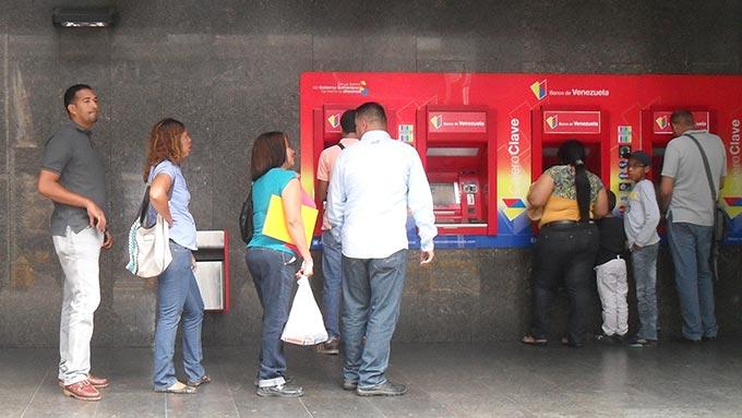 Escasez de billetes en lso cajeros automáticos
