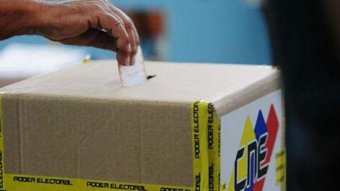 Elecciones parlamentarias 6D