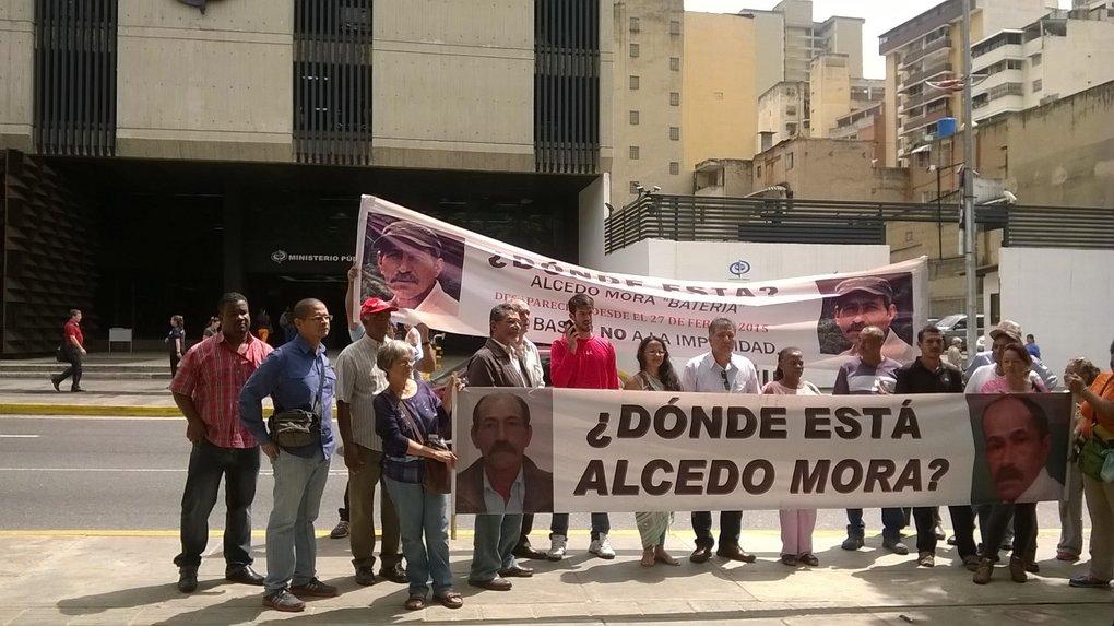 Alcedo Mora, dirigente social, lleva 6 meses desaparecido