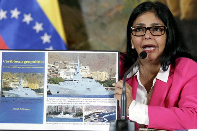 Guyana miente, según afirma la canciller Delcy Rodríguez