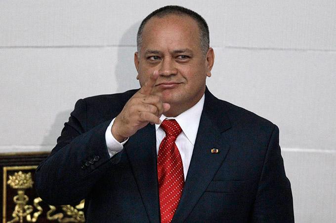 Diosdado Cabello en la Asamblea Nacional