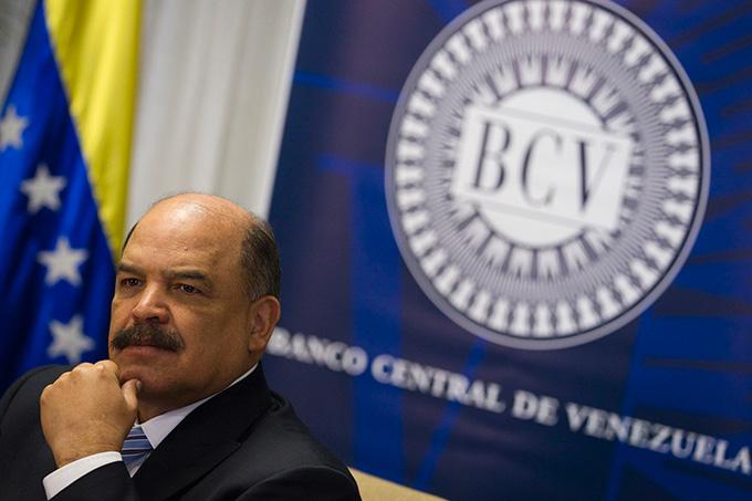 Nelson Merentes, presidente del BCV