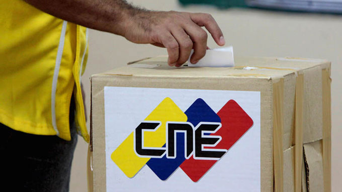 Elecciones parlamentarias 2015. 6D