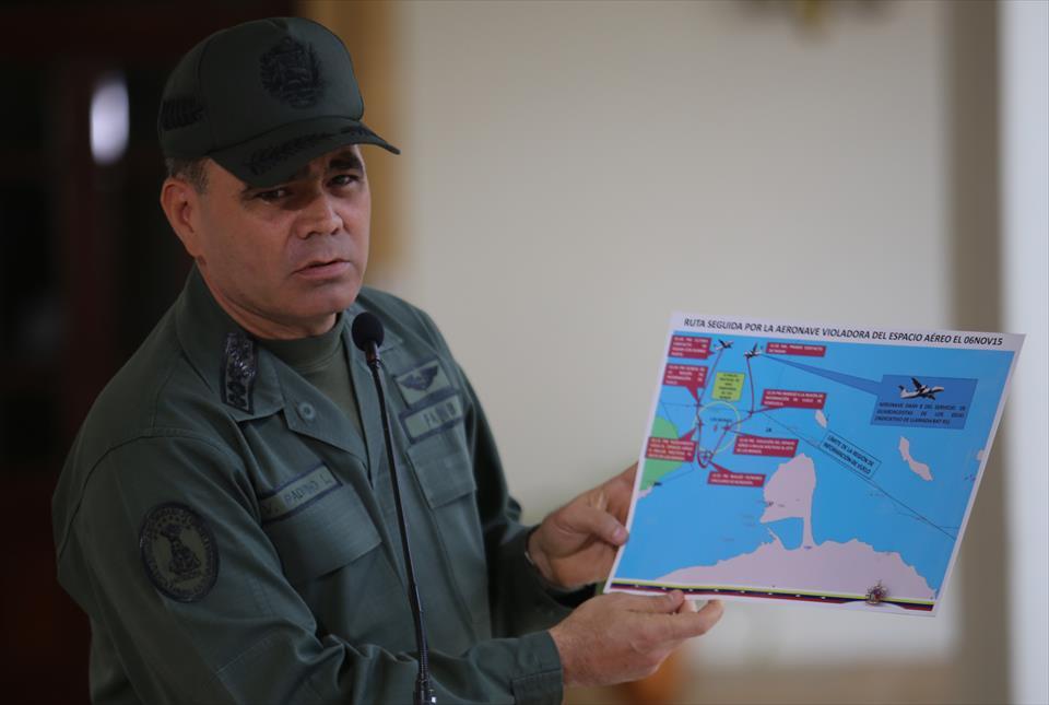 General Padrino López, ministro de la Defensa