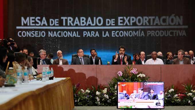 Maduro-exportaciones