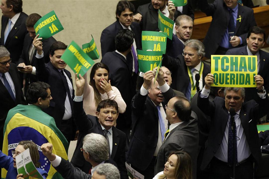 COngreso de Brasil aprueba juicio político contra Dilma Rousseff