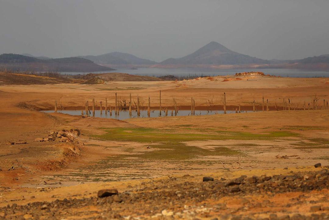 Guri, un desierto