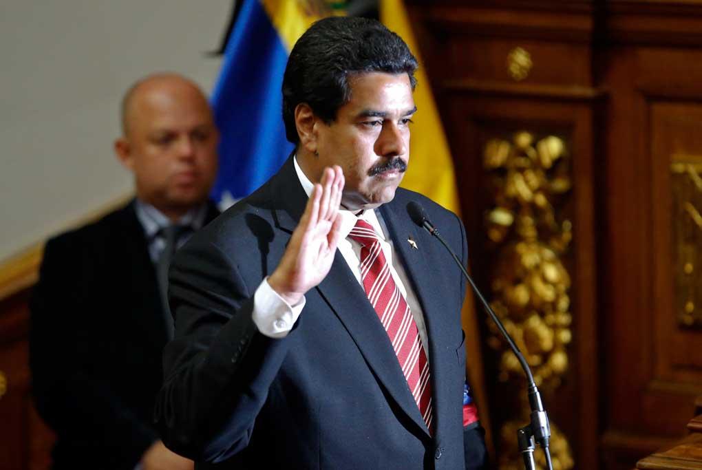 Nicolás Maduro cumple 3 años en la presidencia