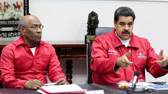 Maduro y Aristóbulo