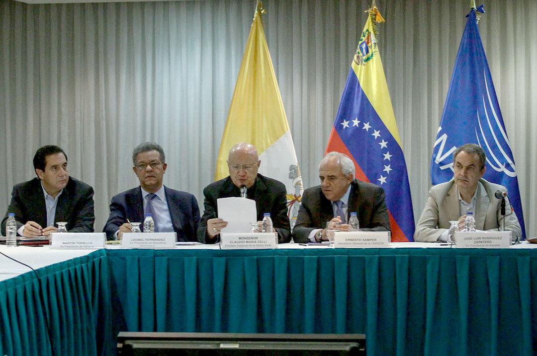 La propuesta de los mediadores para relanzar el diálogo