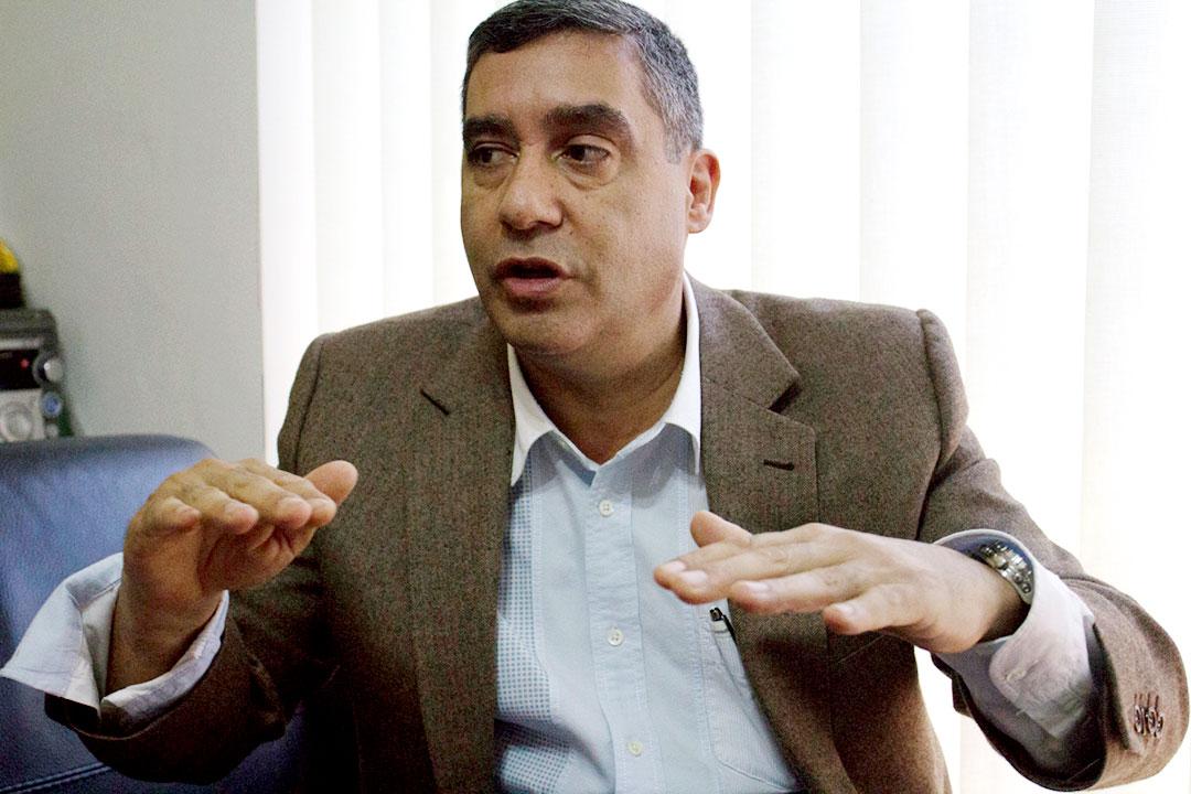 Miguel Rodríguez Torres en entrevista con La Razón