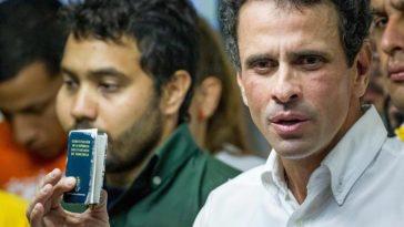 """Capriles: """"Que el mundo vea que somos millones"""""""