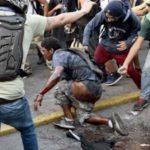 Hombre quemado en Altamira