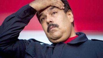Nicolás Maduro preocuado