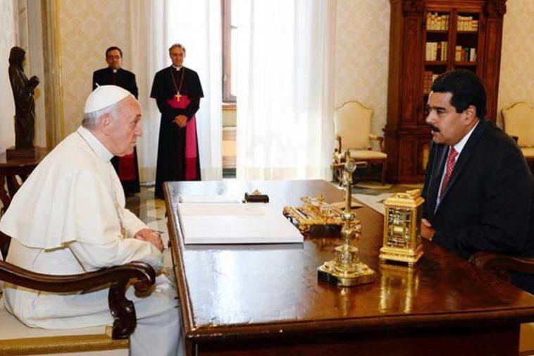 Papa Francisco y Maduro