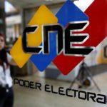 CNE Elecciones Regionales