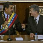 Nicolás Maduro y Henry Ramos Allup - PSUV-MUD: Dos facciones del régimen