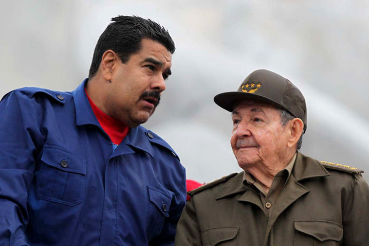 Maduro, sucesor de Raúl Castro