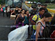 Emigración humanitaria Venezuela