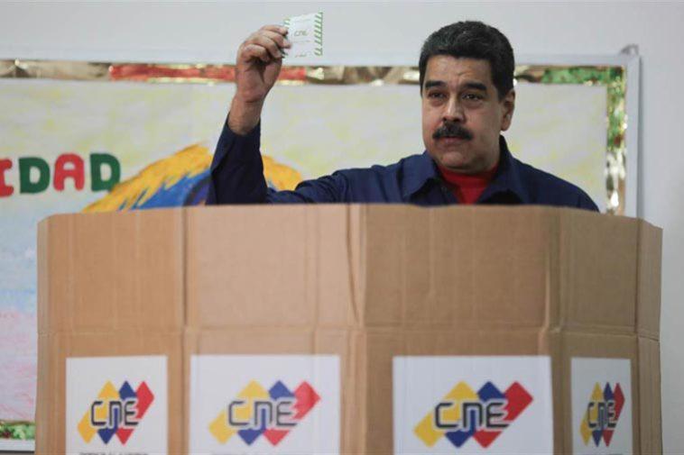Elecciones Maduro